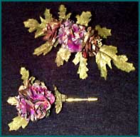 Hair clip and lapel pin